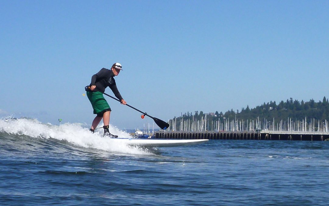 Freighter Wave Surfing Locations on Puget Sound