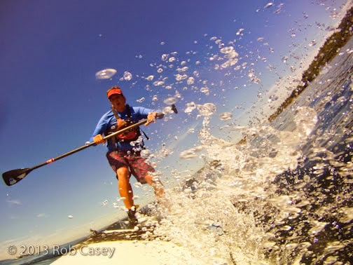 The Fear of Falling off a SUP
