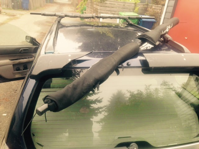 Car Wax Near Me >> How to deal with a broken roof rack.. - Salmon Bay Paddle