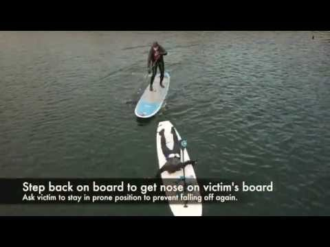 SUP Flip Rescue & Towing Video