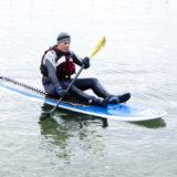 Sit Paddling using a Kayak Stroke