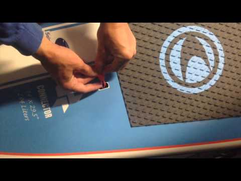How to Install the Leash Plug String for SUPs and Surfboards
