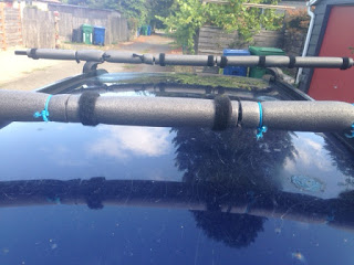 Fitting Sea Kayaks & SUPs on Your Rack