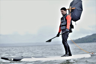 SUP Downwinder Umbrella – Getting Innovative