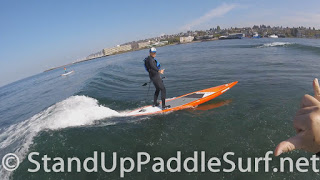 How to Catch a Wave for Stand Up Paddle Boarders