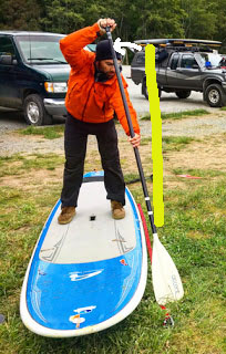 How to Paddle your SUP Straight