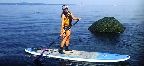7 Tips for Paddling a SUP Pain Free