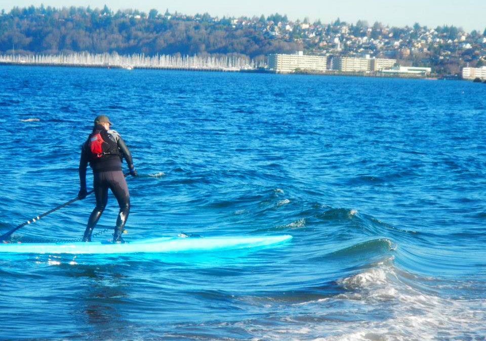 Tips for Paddling Race Boards in Surf