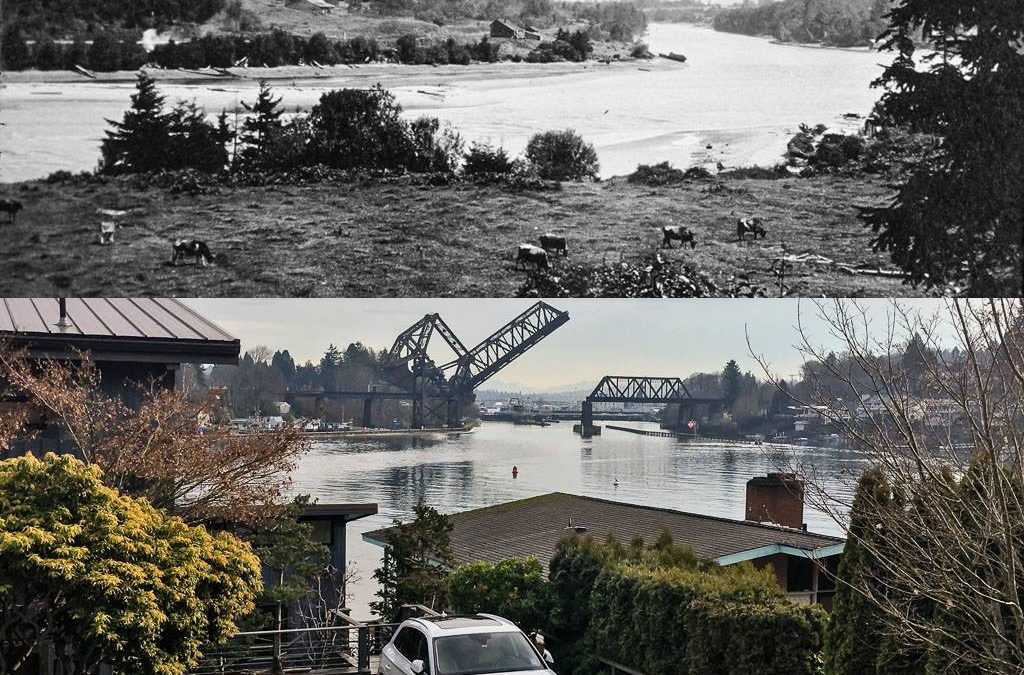 Ballard and the Salmon Bay Waterway, a Historical Photo Overview by Arni Thomson and Rob Casey