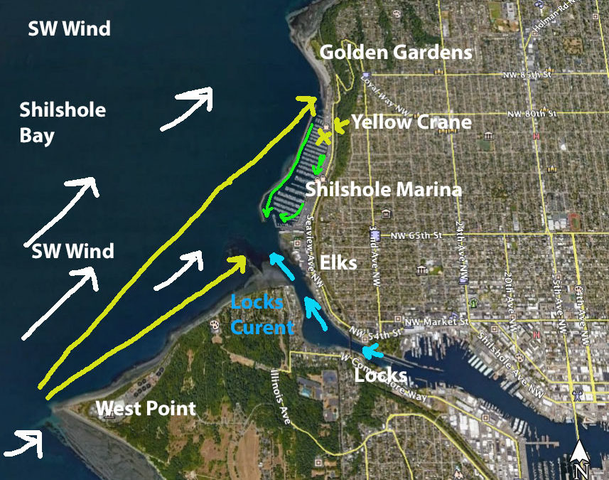 4 Shilshole Bay Downwind Runs