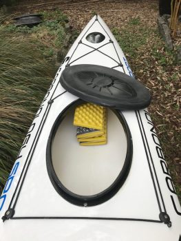 Carbonology Cruze's stern hatch